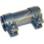 2x Auspuff Rohrverbinder für Auspuffanlage Ø41,5x125mm