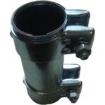 2x Auspuff Rohrverbinder Rohrschelle für Auspuffanlage Ø42x125mm