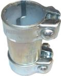 Topseller 3x Stück Auspuff Rohrverbinder für Auspuffanlage Ø45x90mm