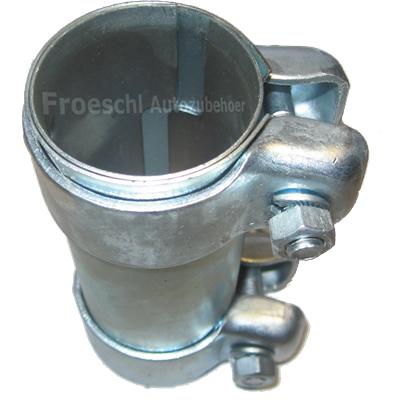 Auspuff Rohrverbinder für Auspuffanlage Ø44,5x125mm