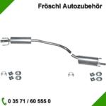 Opel Kadett D Endschalldämpfer Auspuff