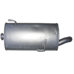 Peugeot 206 1.6 HDi 2.0 HDi Auspuff Auspuffanlage Endschalldämpfer Endtopf