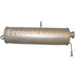 Peugeot 307 1.6 HDi 2.0 HDi Endschalldämpfer Endtopf Auspuff Auspuffanlage