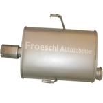 Peugeot 406 Auspuff Endtopf Endschalldämpfer