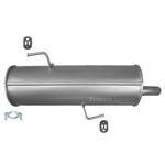 Peugeot 206 1.1i 1.4i 1.6i -16V Endschalldämpfer Endtopf Auspuff Anbausatz