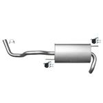 VW Polo 6N 1.0 1.3 1.4 1.6 Endschalldämpfer Endtopf Auspuff Anbausatz