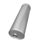Universal Schalldämpfer 165x515 Ø 45mm Auspuff Auspuffanlage Rund