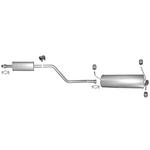 Citroen ZX mit AM Auspuff Auspuffanlage