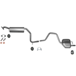 Ford Mondeo 2.0i 16V Auspuff ab Kat Mittelschalldämpfer Endschalldämpfer