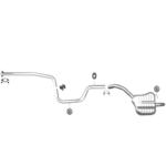 Ford Mondeo 4 2,0 TDCi Mittelrohr Endtopf Auspuff Anbausatz