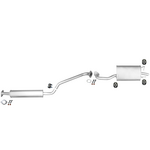 Traveller WP 12 Abgasanlage Auspuff Schalldämpfer für Nissan Primera 2.0 Kit