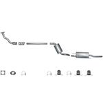 Vw Golf 3 mit Anbauset Montageset komplette Abgasanlage Auspuffanlage