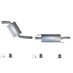 Vw Golf 3 und 4 incl Anbau Montageset Auspuff Auspuffanlage ab Kat