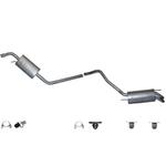 Vw T4 incl Anbau Montagematerial Abgasanlage Auspuffanlage Auspuff