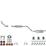 VW Golf 3 komplette Abgasanlage incl Materialset Komplettanlage