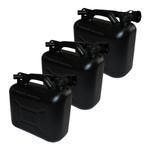 Set 3x 5L Benzinkanister Reservekanister Kanister Benzinreserve
