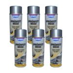 6x Presto Sprühfett weiß Schmierfett Schmiermittel Fettspray Spray