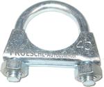 40er Auspuff Schelle Gewindebügel Klemme Rohrschelle Bügelschelle