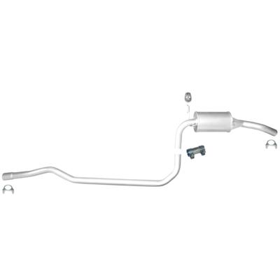 Mitteltopf Auspuff Schalldämpfer Auspuffanlage Abgasanlage Ford Fiesta 1.3i 3CFI