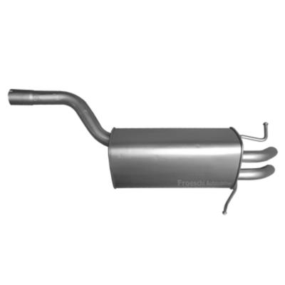 Mercedes C180 C200 C230 Coupe Endschalldämpfer Endtopf Auspuff Auspuffanlage