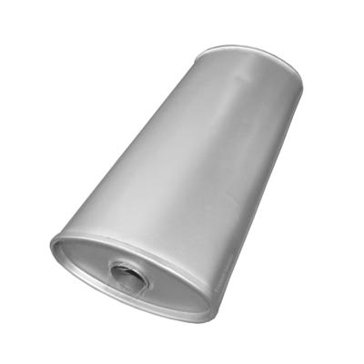 Universal Schalldämpfer 210x110x450 Ø 43mm Auspuff Auspuffanlage Oval