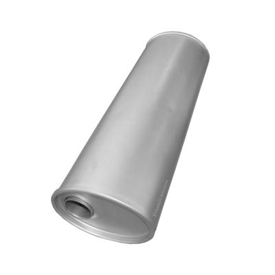 Universal Schalldämpfer 170x125x450 Ø 43mm Auspuff Auspuffanlage Oval