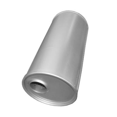Universal Schalldämpfer 170x340 Ø 47mm Auspuff Auspuffanlage Rund