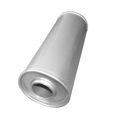 Universal Schalldämpfer 110x350 Ø 50mm Auspuff Auspuffanlage Rund