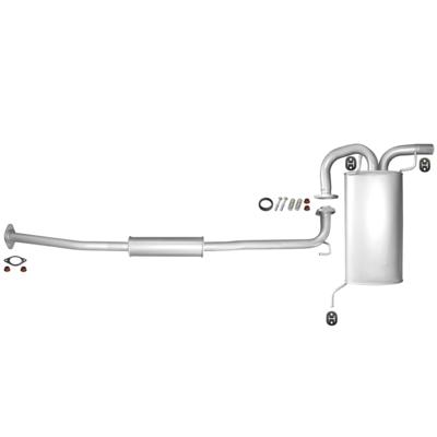 Endtopf Auspuff Schalldämpfer Auspuffanlage Abgasanlage für Nissan Vanette 2.0 B