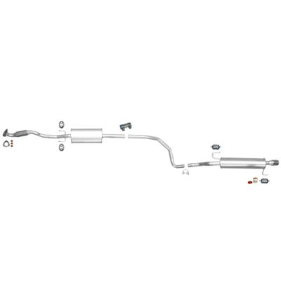 Mittelschalldämpfer Opel Corsa D 1.4 16V Auspuff Mitteltopf Flexrohr