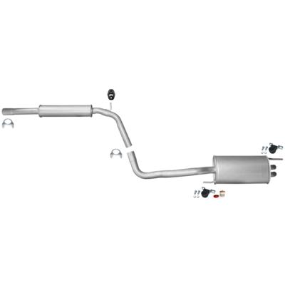 VW Polo 6N1 6N2 Rohrverbinder Doppelschelle Schelle Auspuff Mitteltopf Endtopf
