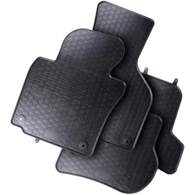 vw golf v 1k1 1k5 fu matten gummimatten allwetter. Black Bedroom Furniture Sets. Home Design Ideas