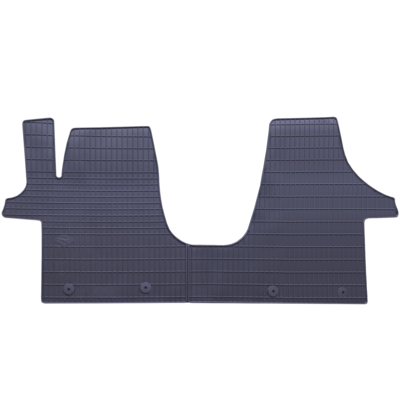 vw transporter 6 t6 fu matten gummimatten allwetter. Black Bedroom Furniture Sets. Home Design Ideas