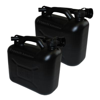 2x 5L Benzinkanister Kraftstoffkanister Reservekanister Kanister