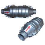 Universaler Katalysator Kat mit Anbausatz Ø 45 mm 1400cm³ bis 2000cm³