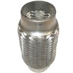 50x150mm Flexrohr Flexstück Flexteil Flexibles Rohr Auspuff Universal