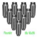 10 Stück 45,5 x 94 mm IL VW Flexrohr