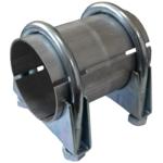 45x100 Rohr Reparaturrohr Rohrverbinder Auspuff Auspuffanlage Schellen