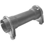 200mm Rohr Reduzierstück 55mm auf 60mm Auspuff Adapter inkl 2 Schellen