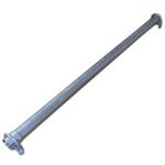 43x1000mm Universal Reparaturrohr Rohr mit Aufweitung Auspuff Schelle