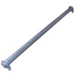 60x1000mm Universal Reparaturrohr Rohr mit Aufweitung Auspuff Schelle