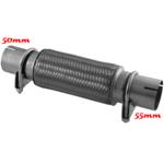 50x55x230 Flexrohr Flexstück Rohrstücken ohne Schweißen 50x55x230/330