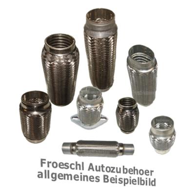 Flexrohr Edelstahl Flexteil Flexstück Flexibles Auspuff Rohr Universal 50 x250mm